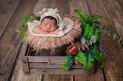 Baby Yu Tong ~ 7days old