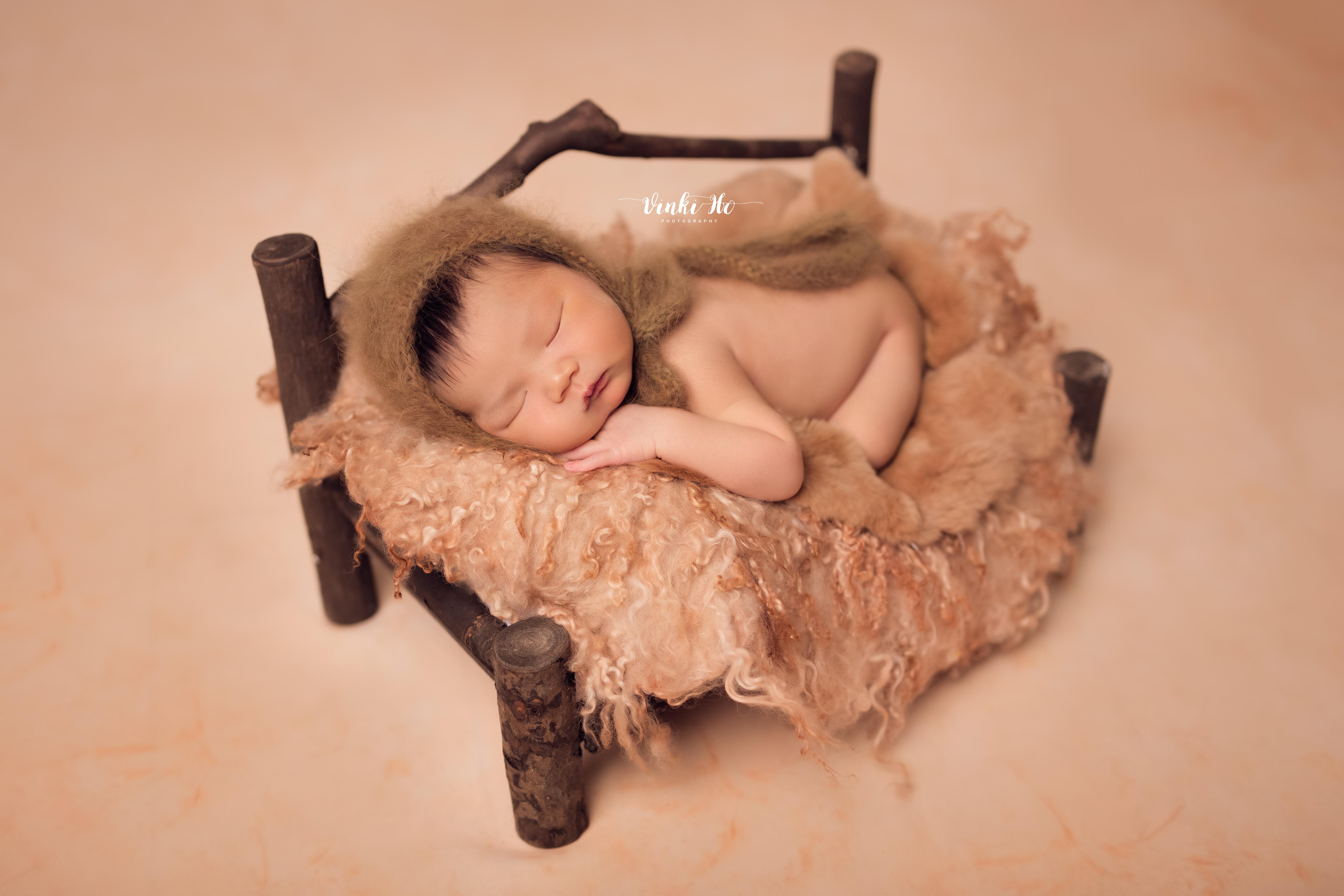 Baby Jun Kai  ~ 8days old