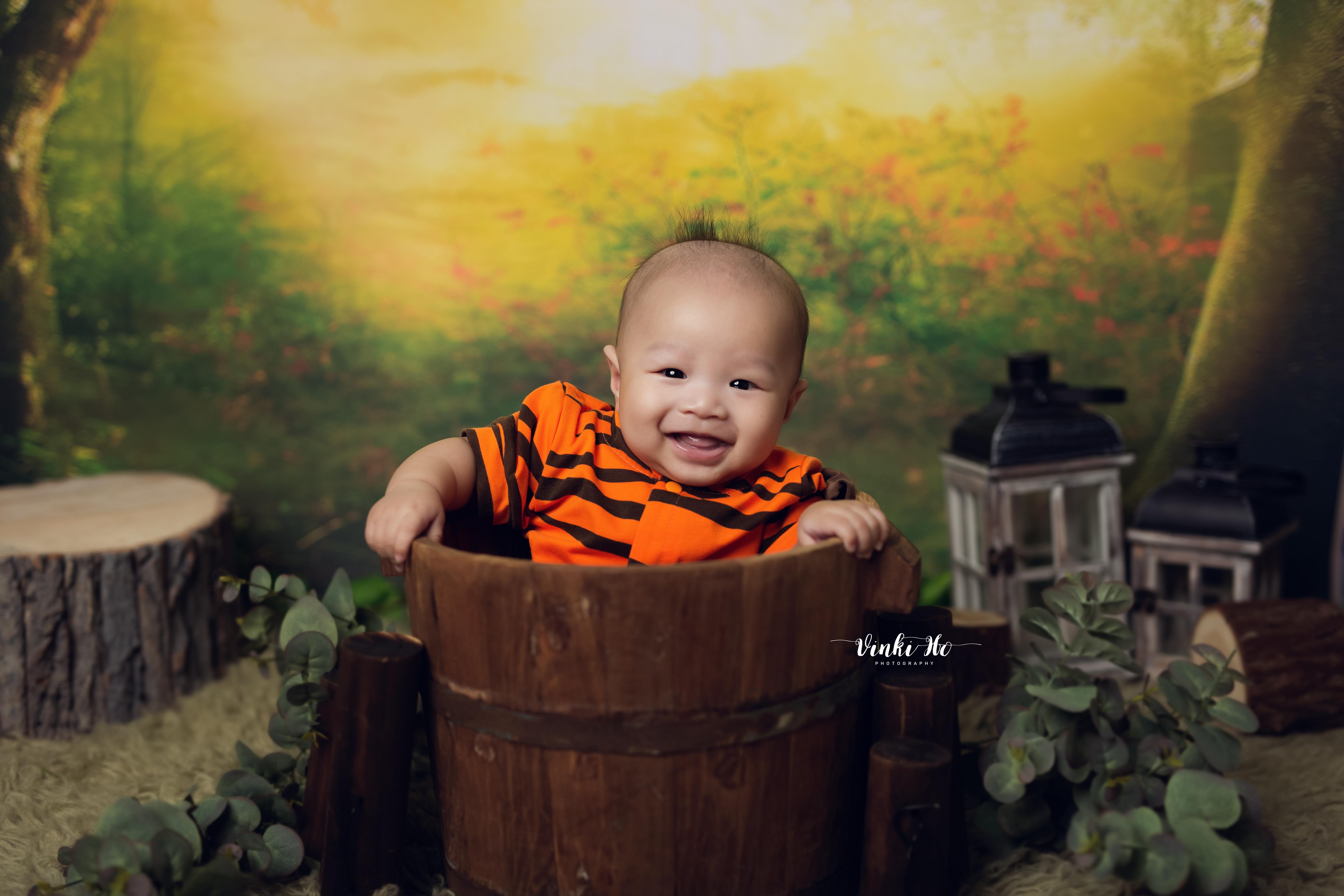 Studio_Baby Zander~ 4mths old