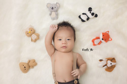 Studio_Baby Jordan~ 2mths old