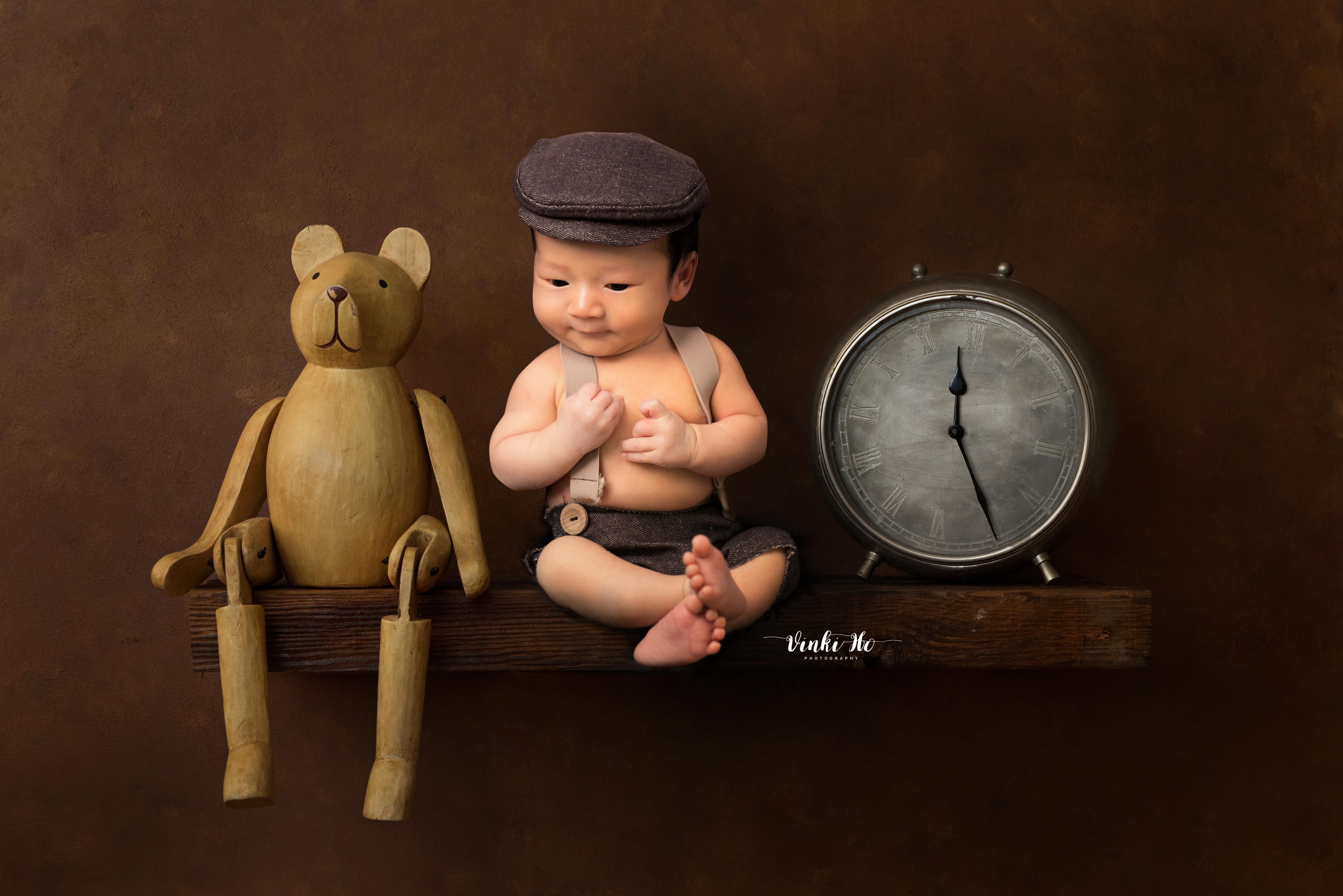 Baby Brynner ~ 10days old