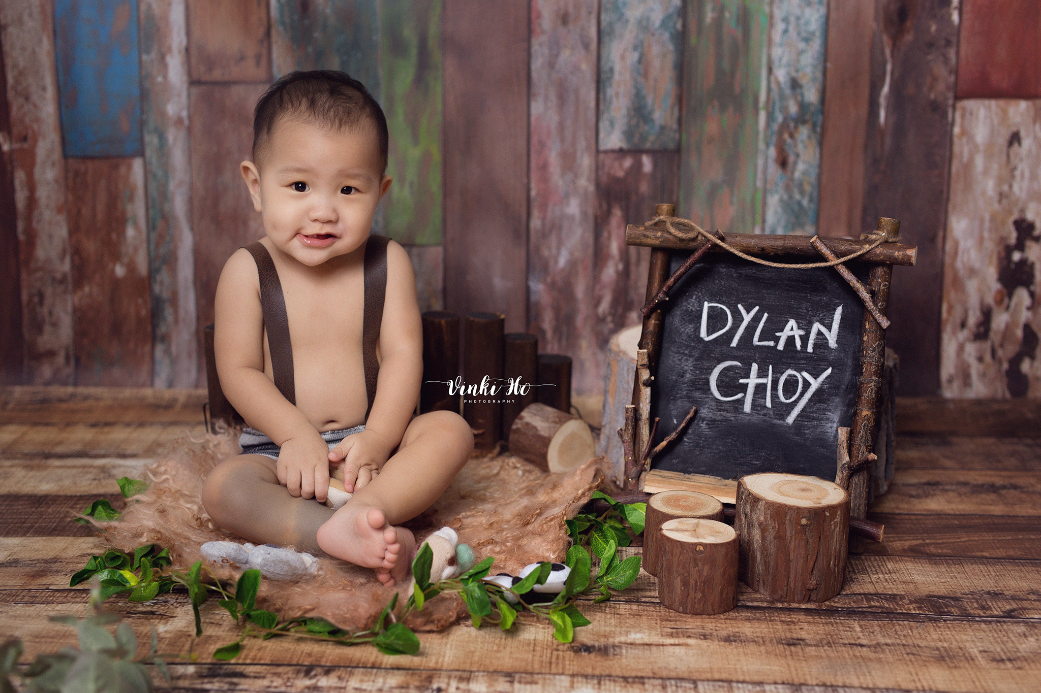 Studio_Baby Dylan ~ 12mths old