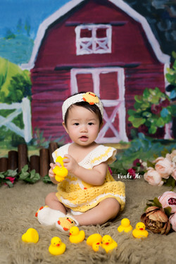 Studio_Baby Yuna ~ 8mths old