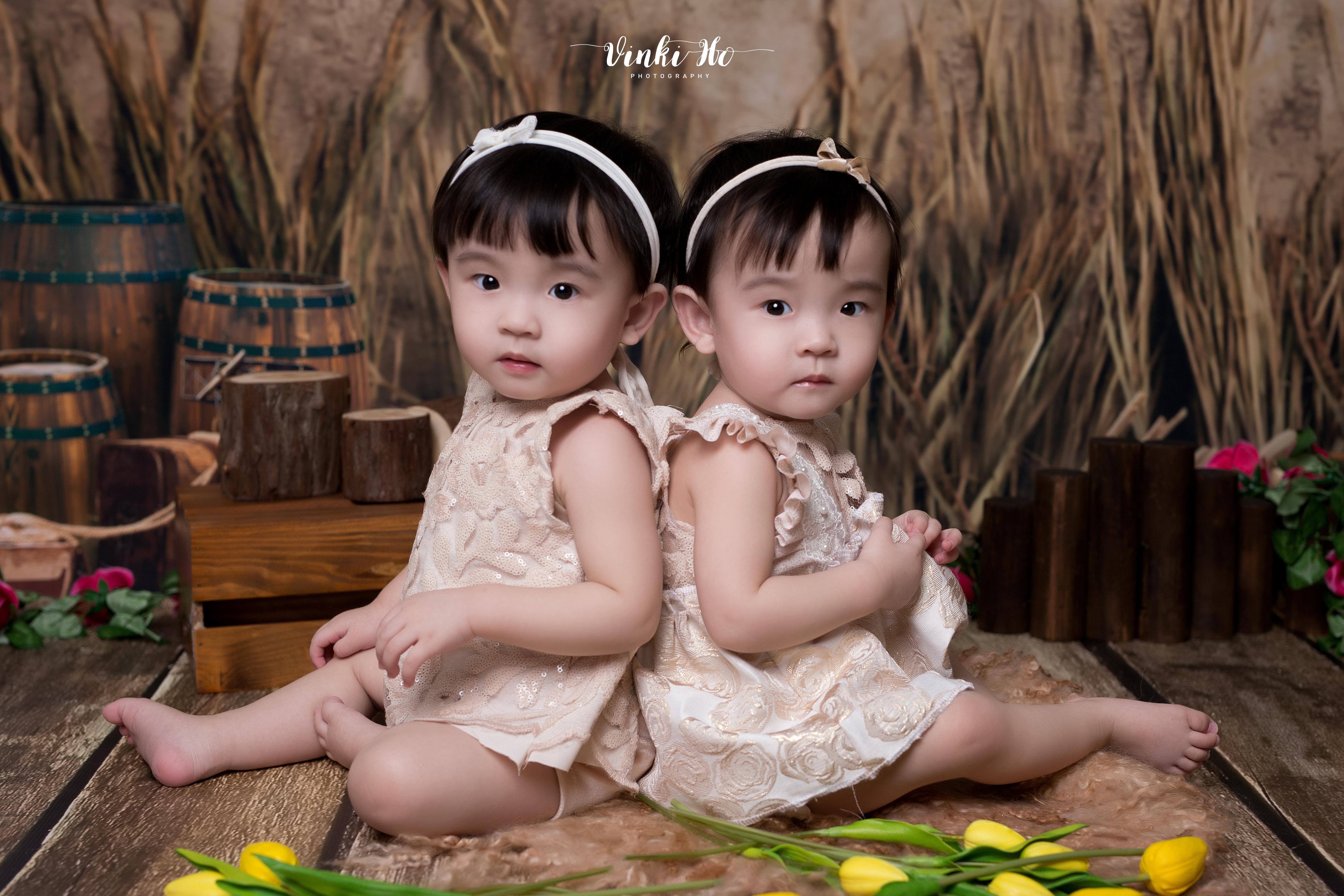 Studio_Baby Alyna & Alysa~ 1yr old