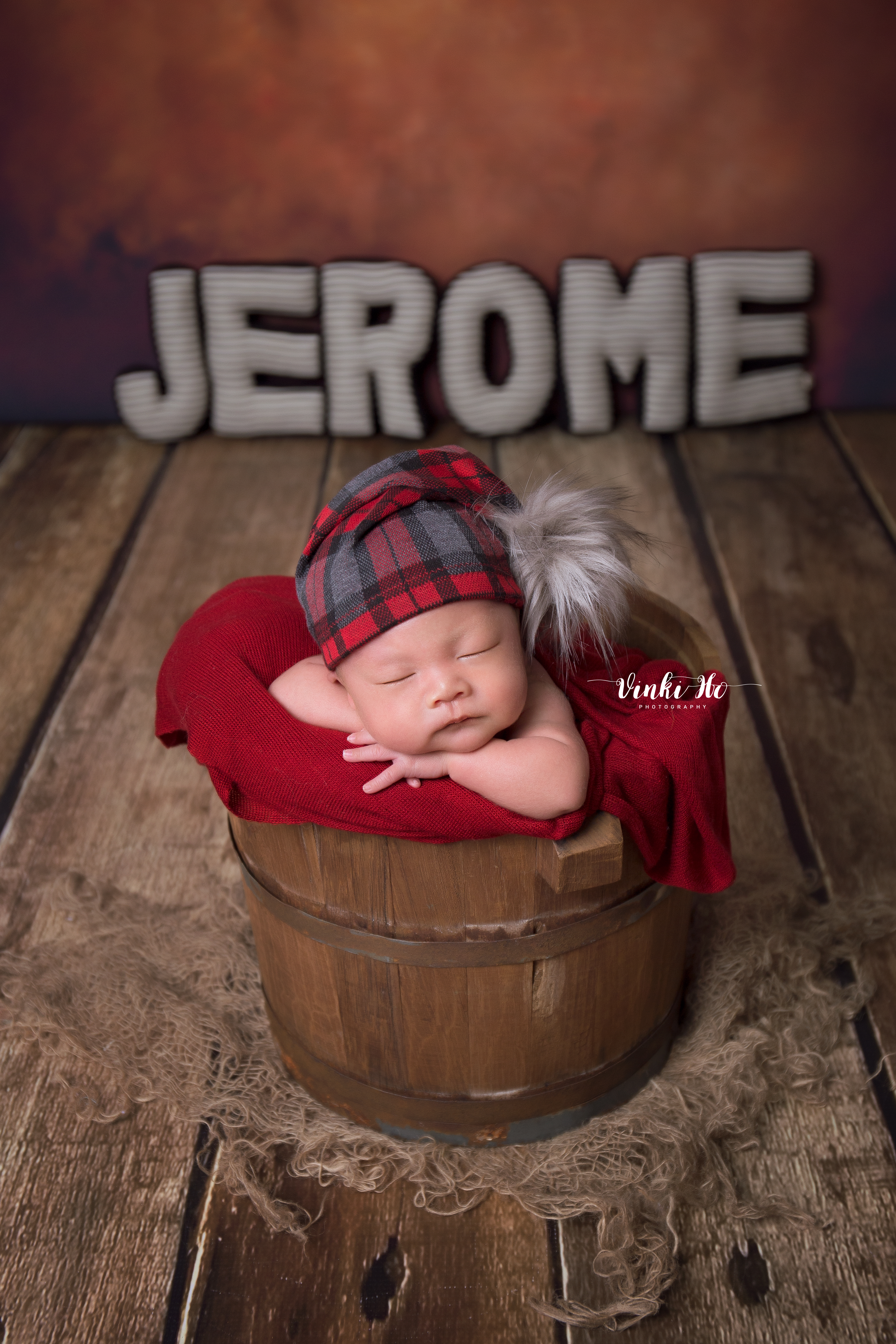 Baby Jerome ~18days old