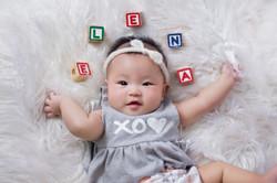 Studio_Baby Elena 4mth old