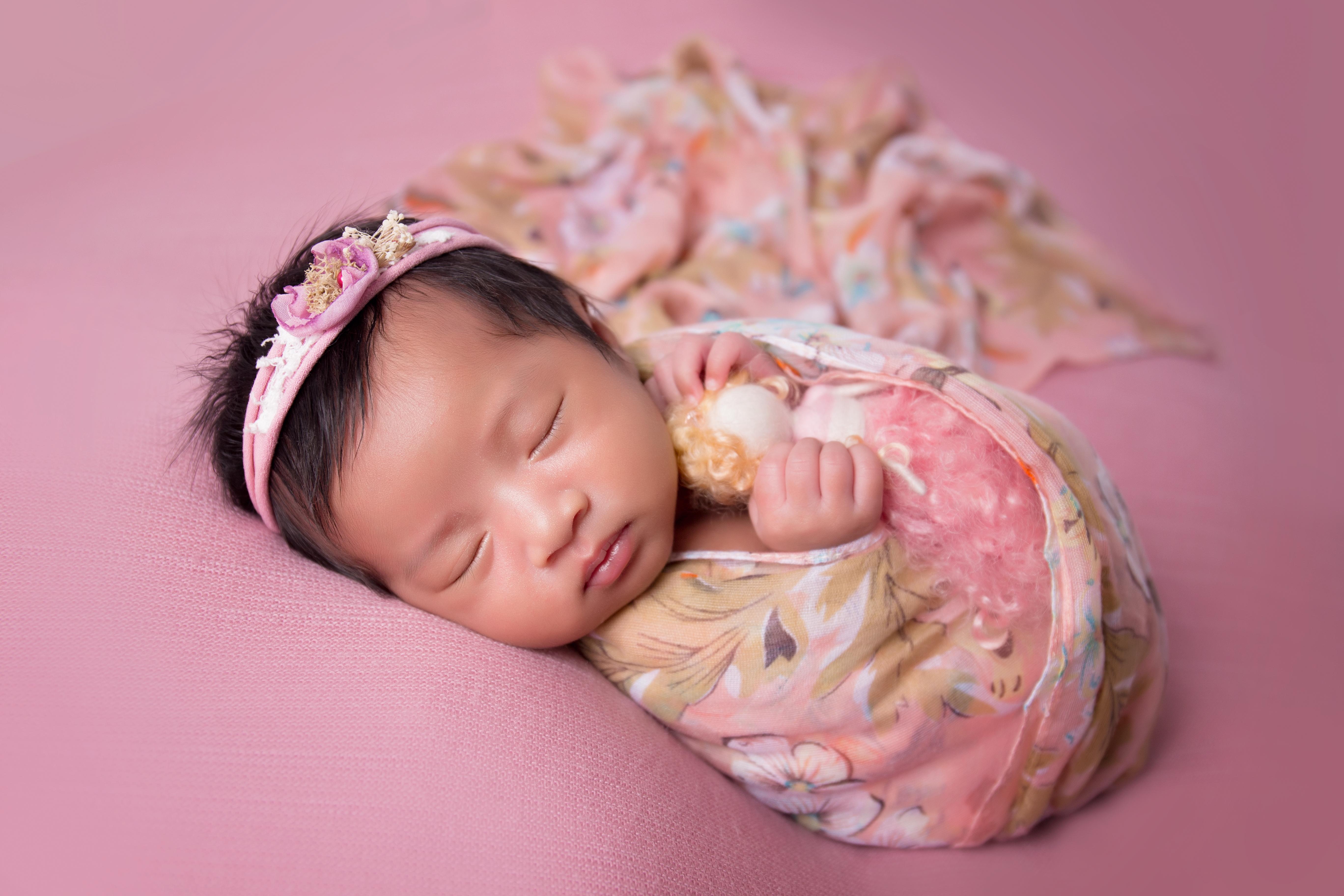 Baby Nurkeisya Airysta ~ 17days old
