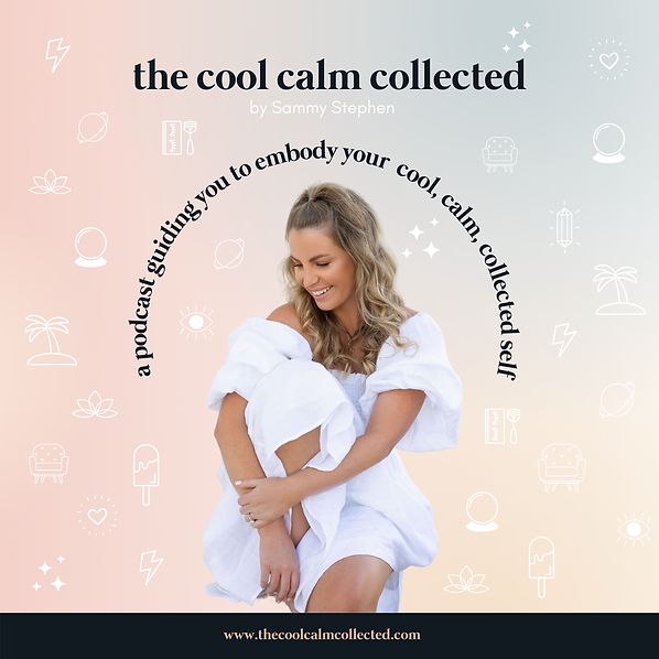 The Cool Calm Collected Podcast Cover.pn