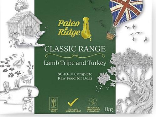 Paleo Ridge Lamb Tripe / Turkey Complete 1kg