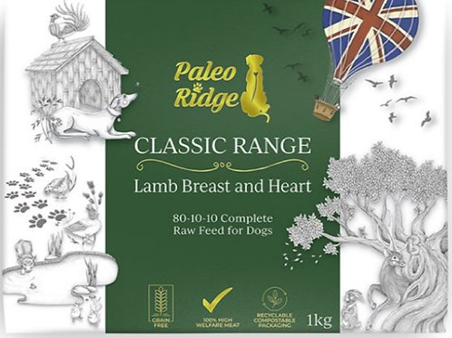 Paleo Ridge Lamb Breast / Heart Complete 1kg