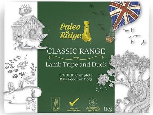 Paleo Ridge Lamb Tripe/Duck Complete 1kg