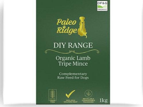 Paleo Ridge diy organic lamb tripe mince 1kg