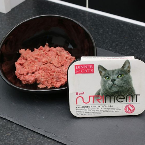 Nutriment Beef Dinner For Cats 175g