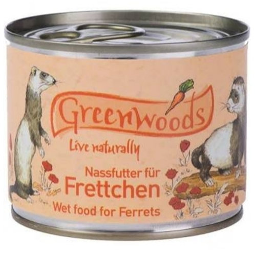 Greenwoods wet ferret food 200g