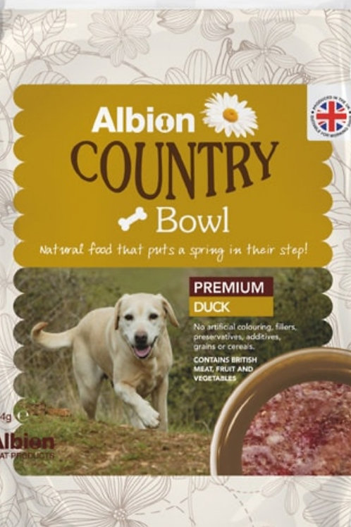 Albion Country Bowl Premium Duck 454g