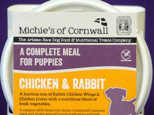 Michies Chicken & Rabbit 500g Complete Puppy Food
