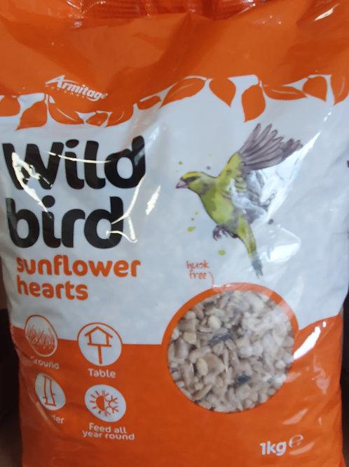 Wild Bird Sunflower Hearts 1kg