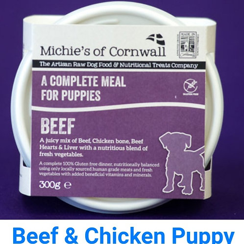 Michies Beef & Chicken  300g Complete Puppy Food