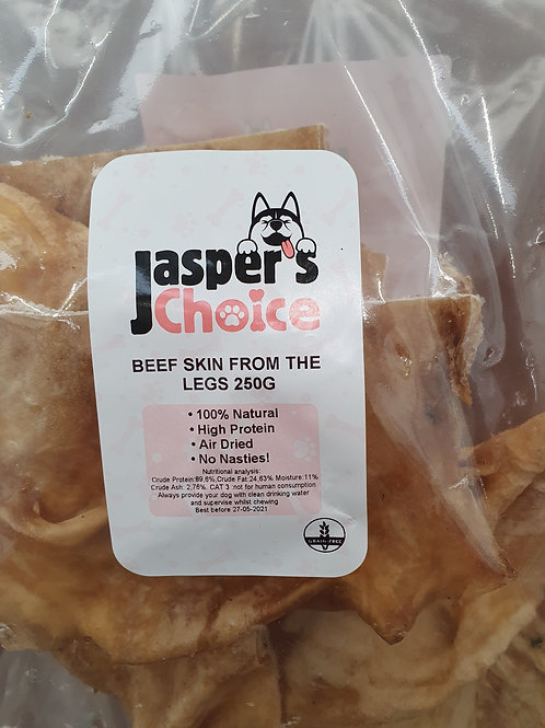 Jaspers Choice Beef Skin 250g