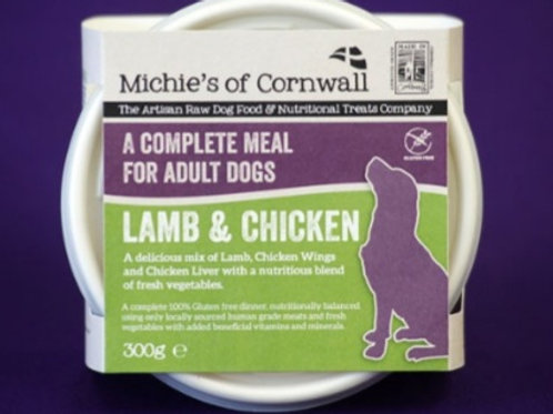 Michies Lamb & Chicken 300g Complete Adult Dinner