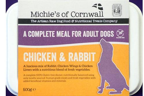 Michies Chicken & Rabbit 500g Complete Adult Dinner