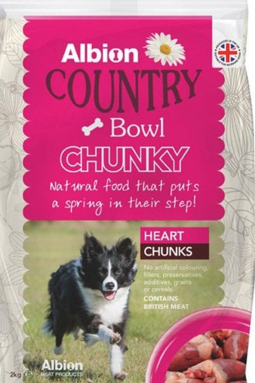Albion Heart Chunks 2kg