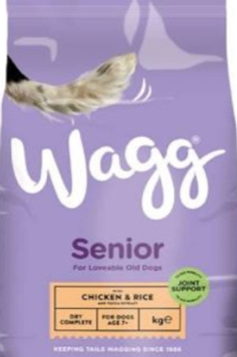 Wagg Senior Chicken with yucca extract 15kg