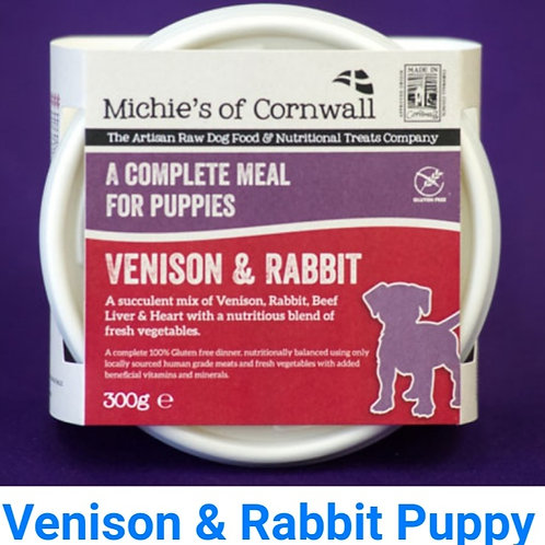 Michies Venison & Rabbit 300g Complete Puppy Food