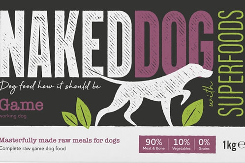 Naked Dog Game  Superfood Range  1kg