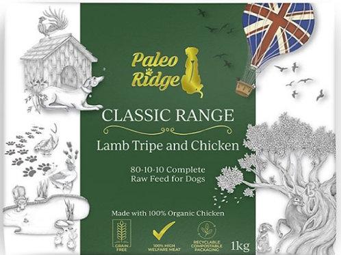 Paleo Ridge Lamb Tripe/Chicken Complete 1kg