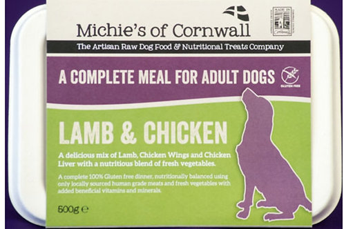 Michies Lamb & Chicken 500g Complete Adult Dinner