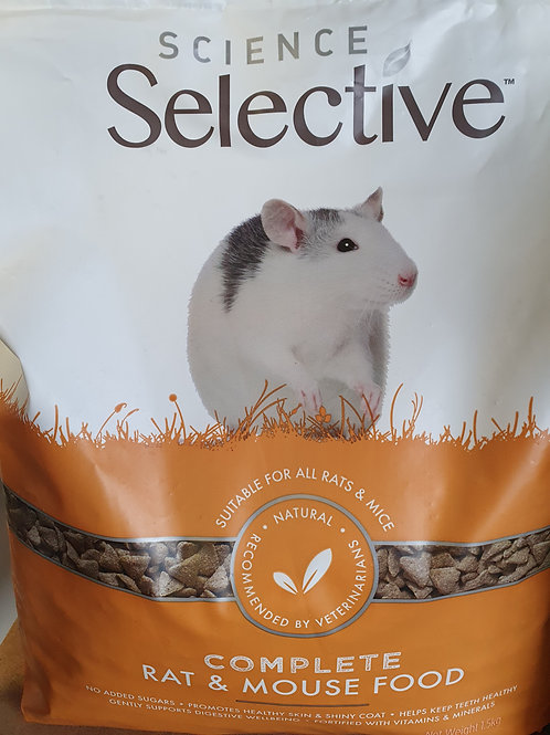 Complete Rat & Mouse Science Selective 1.5kg
