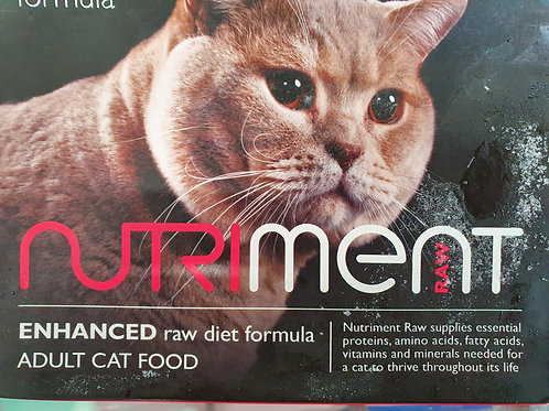 Nutriment Adult Raw Cat Food Beef 500g