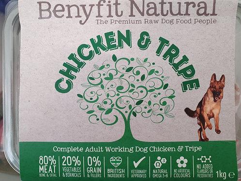Benyfit Complete Freerange Chicken & Tripe 1kg