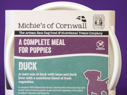 Michies Duck 500g Complete Puppy Food