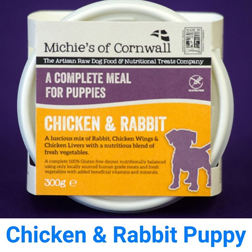 Michies Chicken & Rabbit 300g Complete Puppy Food