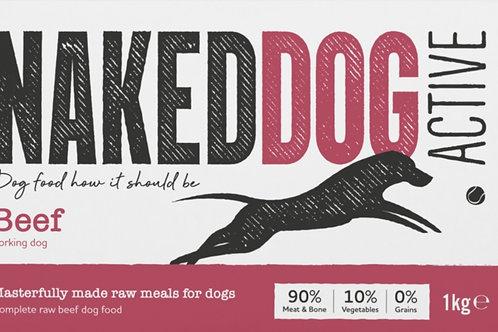 Naked Dog Beef Active  Range  1kg