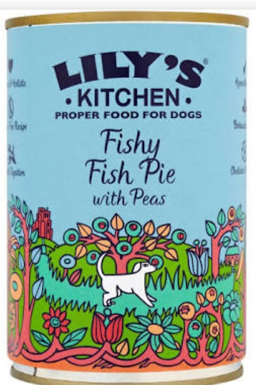 Lilys Kitchen Fishy Fish Pie 400g Tin