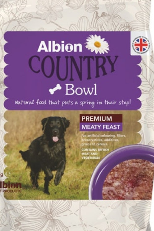 Albion Country Bowl Premium Meaty Feast 454g