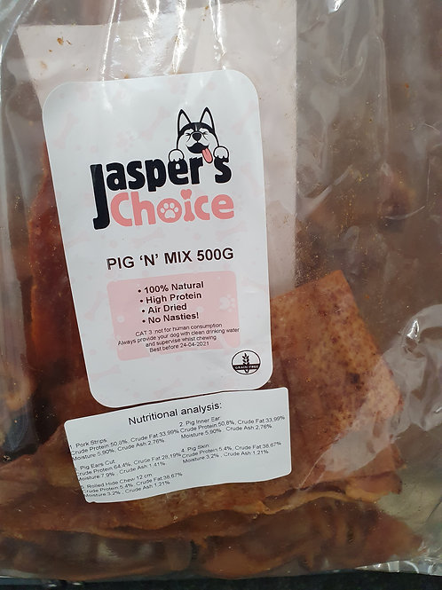 Jaspers Choice Pig 'N' Mix  500g