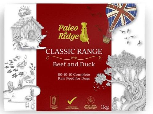 Paleo Ridge Beef Tripe/Duck Complete 1kg