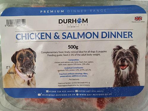 Daf Dinner box Chicken & Salmon 500g