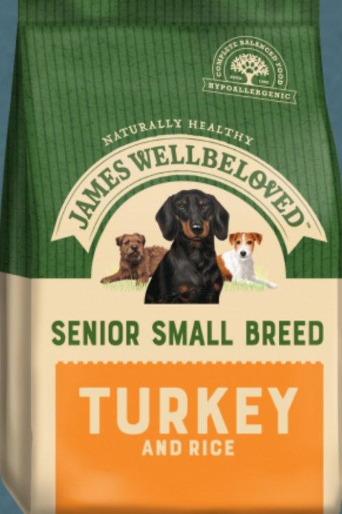 James Wellbeloved Senior Small Breed Turkey & Rice
