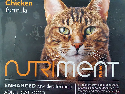 Nutriment Raw Adult Cat Food Chicken 500g