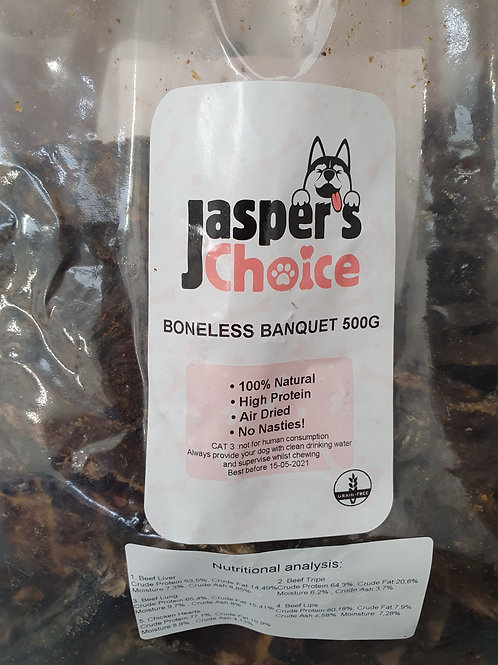 Jaspers Choice Bonless Banquet 500g