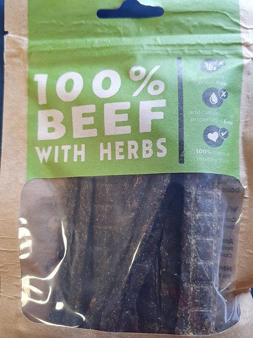Hollings Beef Strios with Herbs