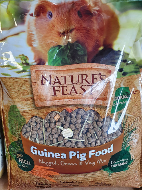 Natures Feast Guinea Pig Food 1.5kg
