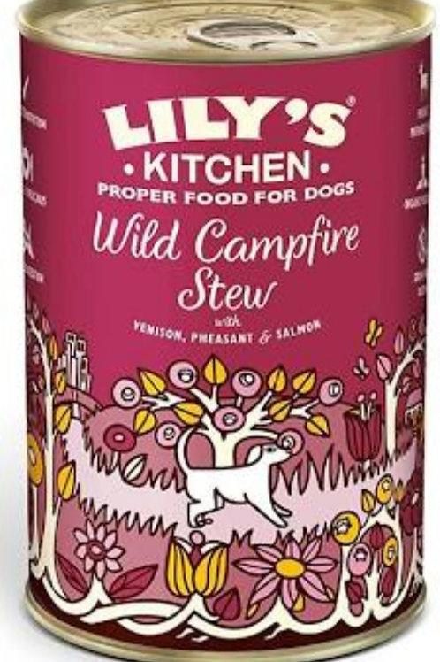 Lilys Kitchen Wild Campfire Stew 400g Tin