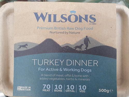 Wilsons  Turkey Dinner  70/10/10/10  500g