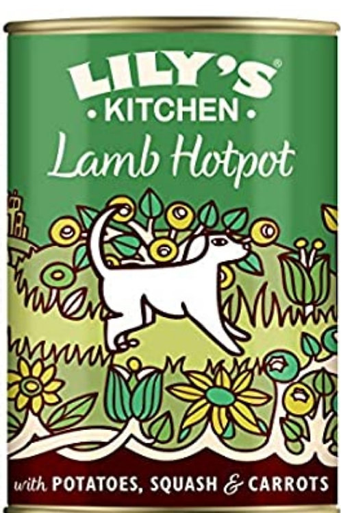 Lilys kitchen Lamb Hotpot 400g Tin